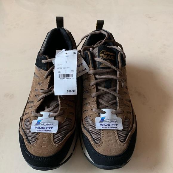 Mens Sport Skechers Wide Fit Shoes